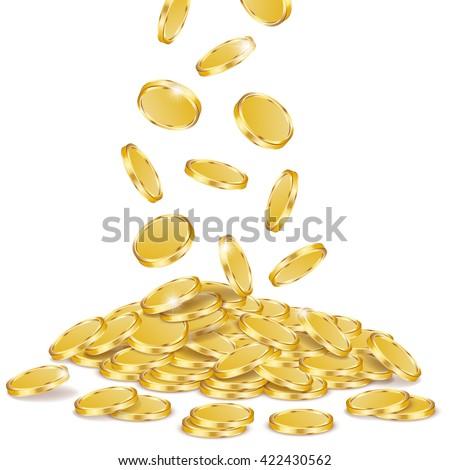 stock-vector-gold-coins-vector