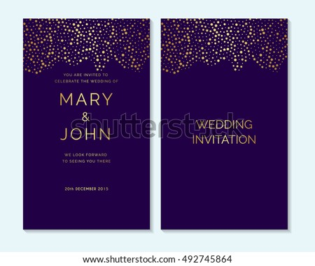 Vector Glitter Save the Date Banner - Download Free Vector Art ...