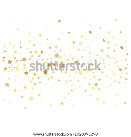 gold confetti vector texture christmas new year birthday celebration festive garland sparkles