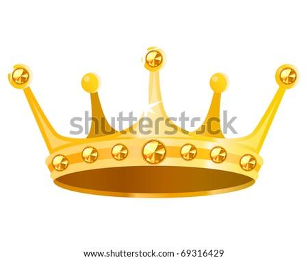 Vector Golden Crown Download Free Vector Art Stock Graphics Images