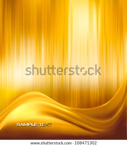 gold elegant abstract