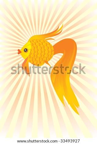 happy goldfish cartoon. hair Like A Gold Fish cartoon