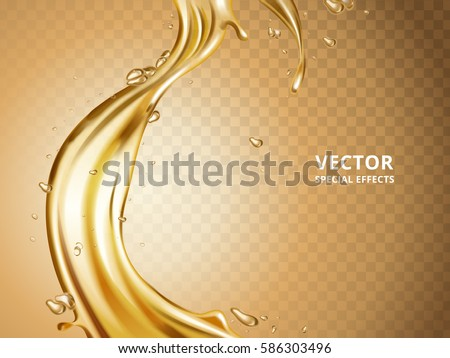 gold fluid flow element  can be