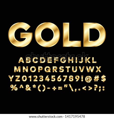 Gold font.You can be used gold font for several purposes like: websites, UI, UX, print templates, presentation templates, promotional materials, web and mobile phone apps