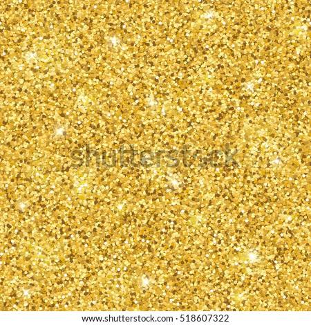 gold glitter seamless pattern