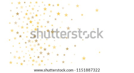 gold glitter stars background sparkle lights confetti falling magic shining flying christmas stars on