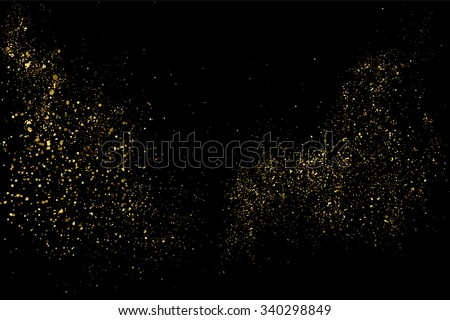 stock-vector-gold-glitter-texture-on-a-black-background-holiday-background-golden-explosion-of-confetti
