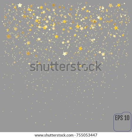 gold glitter texture on a gray