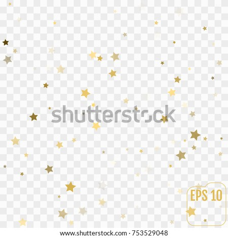 Gold glittering background vector. Star dust and golden glitter. Holidays background for web and print.