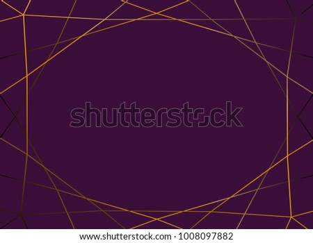 gold gradient glitter triangles ...