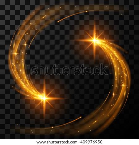 gold light stars