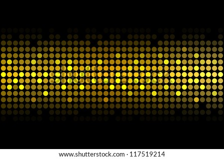 Gold Lights Backgrounds Gold lights - vector