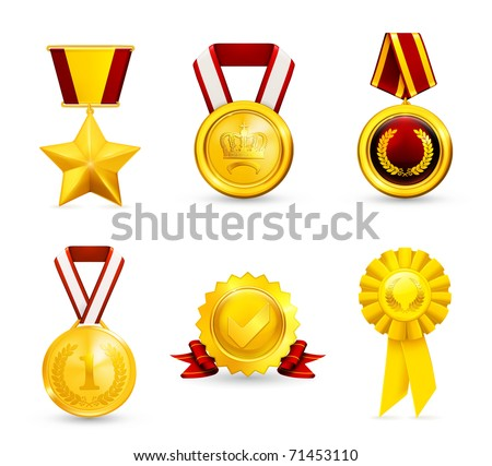 Gold medal, set 10eps