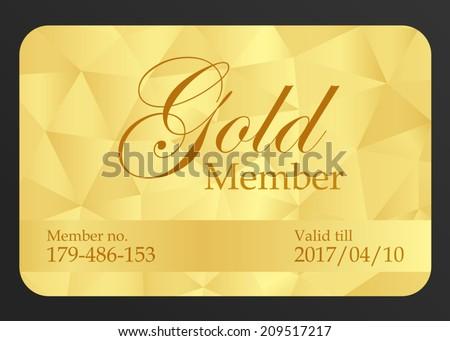 golden premium business card template - Download Free Vector Art ...