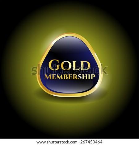 Gold membership shiny object