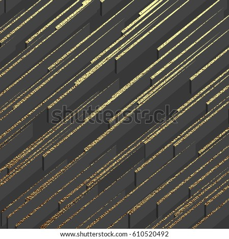 Gold pattern. Abstract golden background. Vector illustration