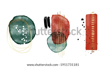 gold red background  abstract