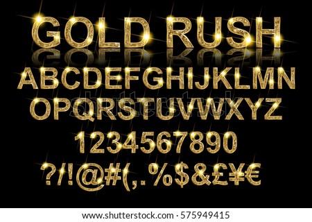 gold rush gold alphabetic