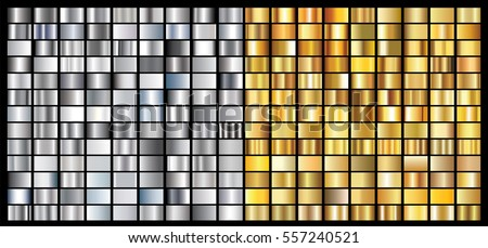gold silver gradient background