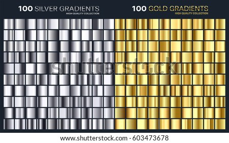 gold silver gradient pattern