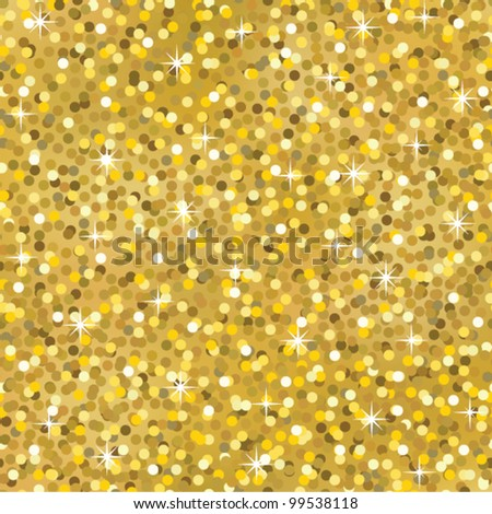 gold sparkle glitter seamless background