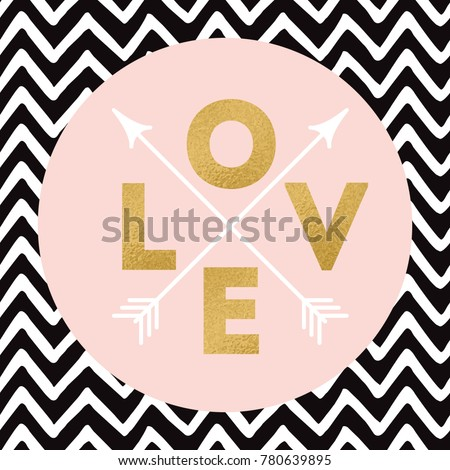 gold sparkle letters love with