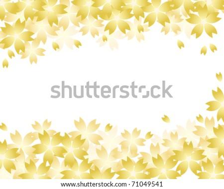 gold spring  flower