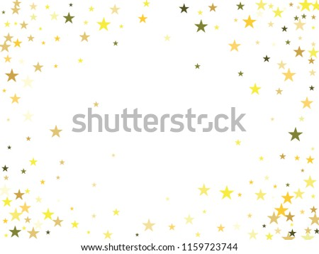 gold stars confetti vector cosmic magic light border cool christmas lights gamour sparkles