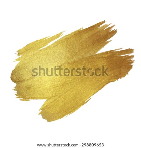 gold texture paint stain