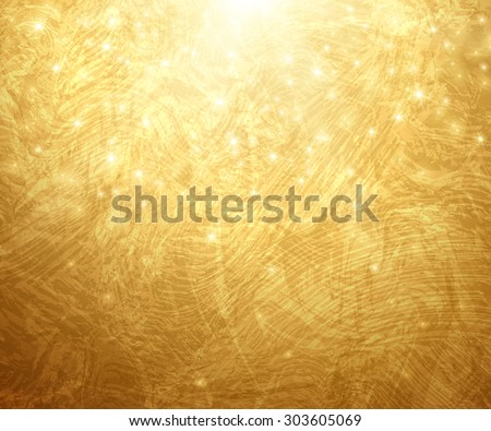 stock vector gold textured background vector illustration shining christmas or new year backdrop golden 303605069 - Каталог — Фотообои «Текстуры»