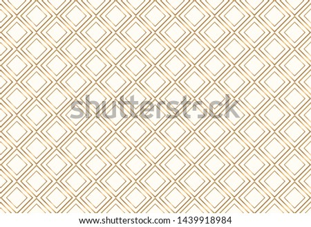 Gold  vector geometric pattern.  Stylish vector gold geometric pattern.