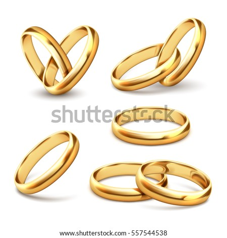 Golden Wedding Ring