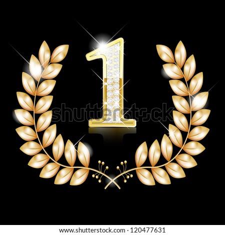Gold Wreath For The Winner - N...