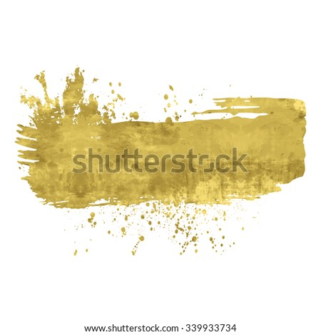 golden abstract background or