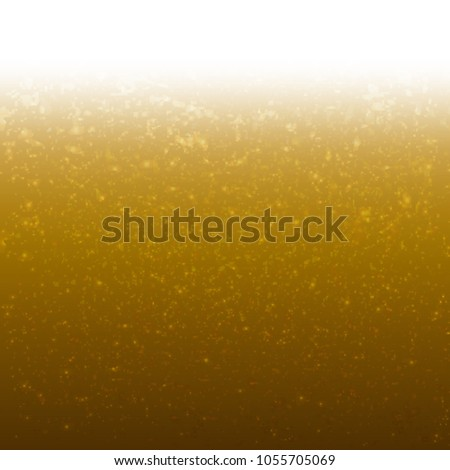 Golden Background With Glitter With Gradient Mesh, Vector Illustration #1055705069