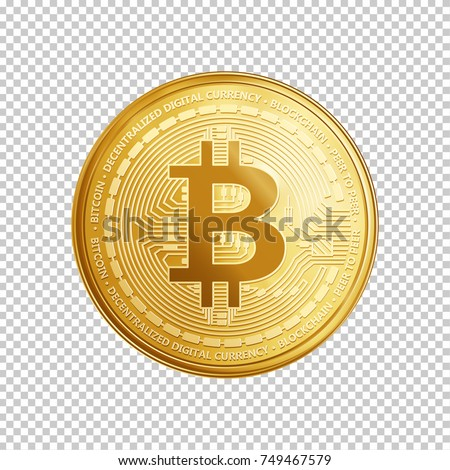 golden bitcoin coin crypto