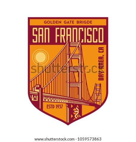 golden gate patch logo