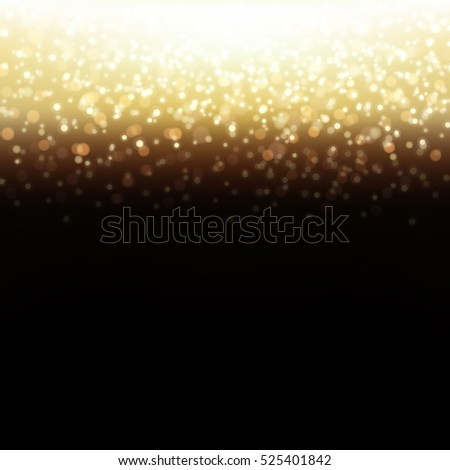 golden glitter background  with