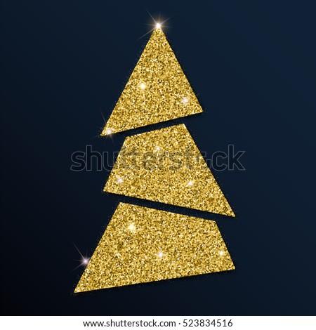 golden glitter charming