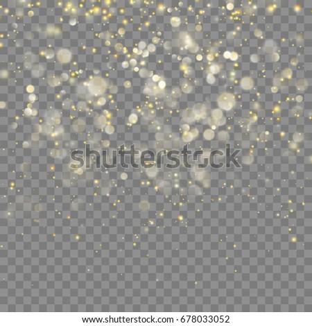 golden glitter christmas