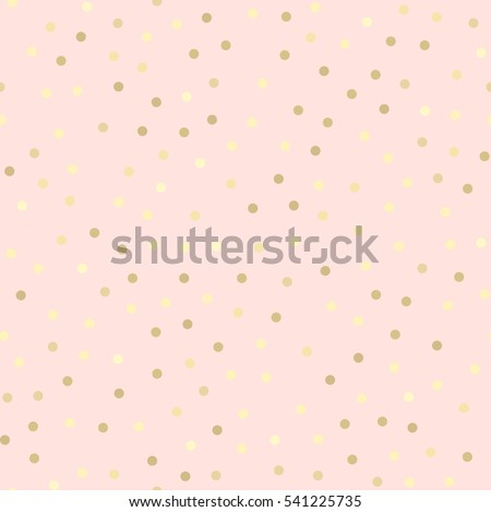 golden glitter dots  abstract