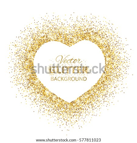 Valentine S Day Glitter Heart Download Free Vector Art Stock