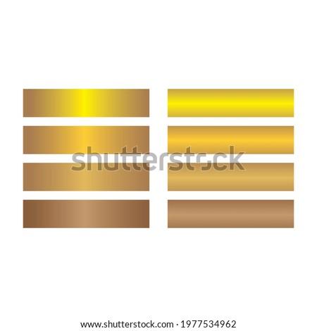 golden gradien vector design template web Stock fotó ©