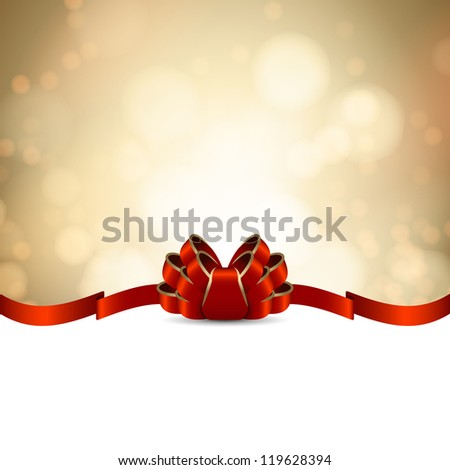 golden greeting card template