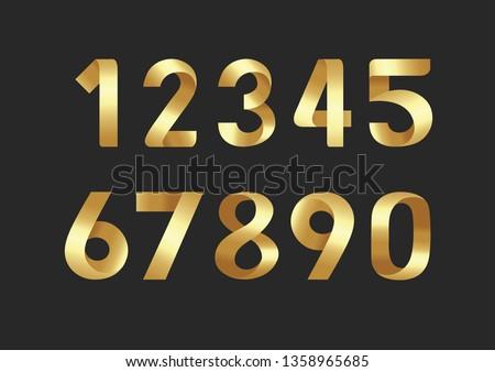 golden number vector