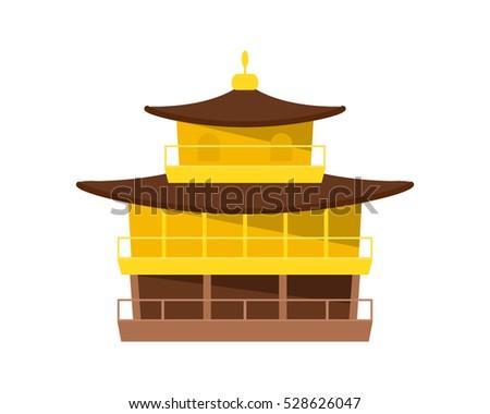 golden pavilion   kinkakuji