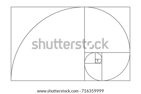 golden ratio template vector