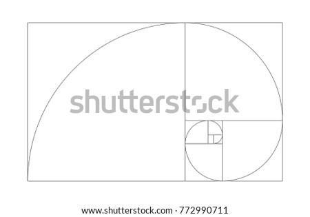 golden ratio vector eps 10