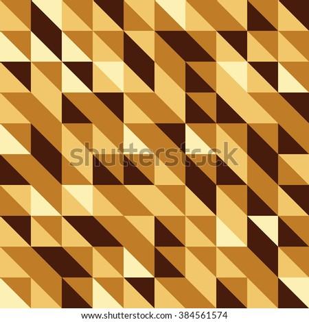 golden seamless pattern of