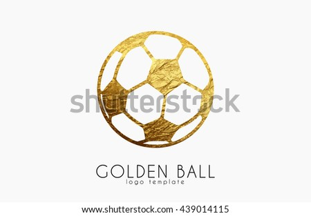 golden soccer ball golden